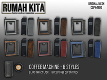 Rumah Kita - Coffee Machine Fatpack