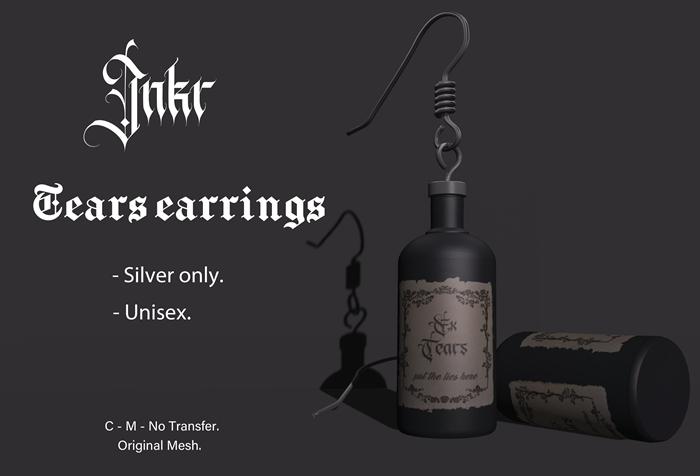 JNKR - Tears earrings