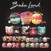 HORNTAIL - [SNAPBACK] Bubu Land Animesh Companion <BOX> RARE