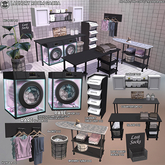 [Since1975] Laundry Room Gacha FULL SET W/RARES - AUTHENTIC SET