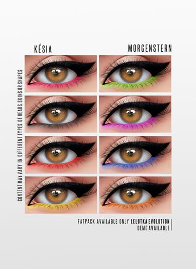 MORGENSTERN: KESIA EYESHADOW [LELUTKA EVOLUTION]