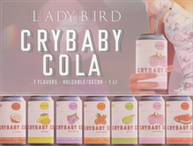 Ladybird. // Cry-baby Cola FATPACK