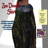 DFF Zen Doodle Maxi Skirt #30
