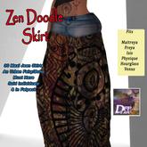 DFF Zen Doodle Maxi Skirt #24