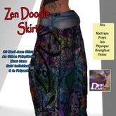 DFF Zen Doodle Maxi Skirt #14