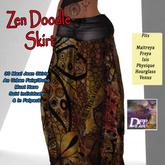 DFF Zen Doodle Maxi Skirt #13