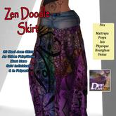 DFF Zen Doodle Maxi Skirt #8