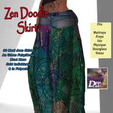 DFF Zen Doodle Maxi Skirt #6