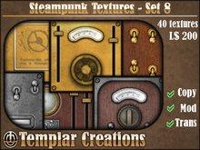 Steampunk Textures - Set 8
