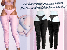 Lunar - Miyu Pants & Panties - Black