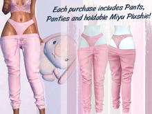 Lunar - Miyu Pants & Panties - Bubblegum Pink (Boxed)