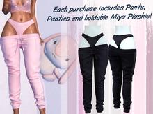 Lunar - Miyu Pants & Panties - Midnight
