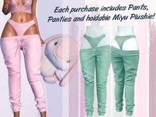 Lunar - Miyu Pants & Panties - Spectra Green (Boxed)