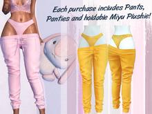 Lunar - Miyu Pants & Panties - Sunflower (Boxed)