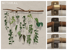 Mithral * Branch Wall Display (White Ceramic)