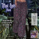 Tiffani Boho Pants (Vines) #3