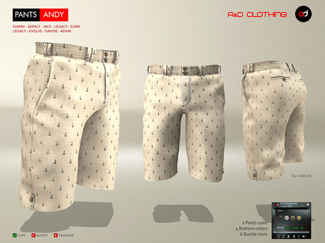 A&D Clothing - Pants -Andy- Tan