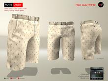 A&D Clothing - Pants -Andy- Tan