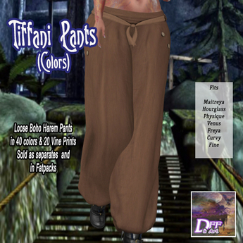 DFF Tiffani Boho Pants (Colors) #33