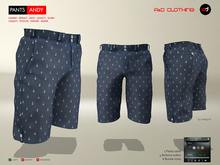 A&D Clothing - Pants -Andy- Navy