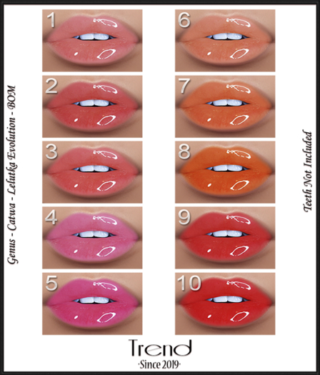 TREND - Sour Candy Lip Gloss - Fatpack