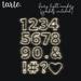 tarte. fairy light numbers