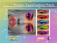 DRAFT Pigments. - Tropic Eyeshadow Pack