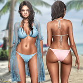 Mutresse - Karina Swimsuit and Tunic - 30 Colors for Slink/Maitreya/Belleza/Legacy