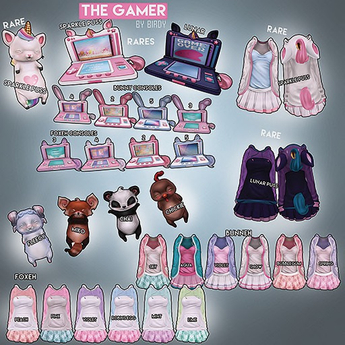 Foxes - The Gamer - Bunneh - Snow s [box]