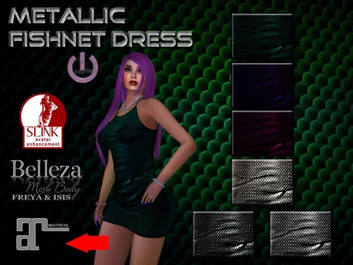 Fishnet Dress-Maitreya-Fatpack
