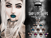 + [QUOTH] + SARI LINED LIPS I FATPACK [CATWA+BOM]