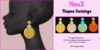 NinaX: Tropez Earrings [ add ]