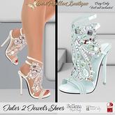 DPB Jules 2 Jewels Shoes - Mint  *Maitreya, Slink & Bellezas*
