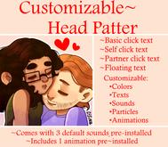 Customizable Head Pat Device