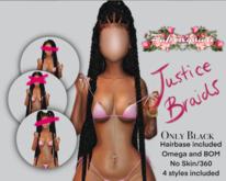 $$$P.L.// Justice Braids