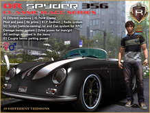 OR SPYDER 356 CLASSIC RACE SERIES (BOX)