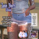 DFF Jamie Shorts (Denim) #9