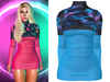 !PCP :: Monica Dress [Galaxy Blue]