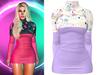 !PCP :: Monica Dress [Galaxy Dreams]