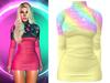 !PCP :: Monica Dress [Galaxy Pastel]