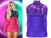 !PCP :: Monica Dress [Galaxy Purple]