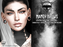 + [QUOTH] + MANDY BROWS - LELUTKA EVO EXCLUSIVE - BOM ONLY