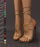 Pure Poison - Tiana Sandals