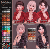 #14 {Limerence} Niki hair(Common3)-Colours2