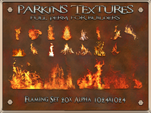 Parkins Textures - Flaming Set - BOXED