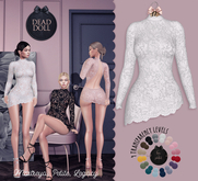 DEAD DOLL - Roxanne Dress - White