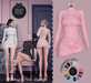 DEAD DOLL - Roxanne Dress - Pink