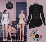 DEAD DOLL - Roxanne Dress - Black
