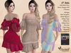 PROMO - ST :: Babs Dress for Maitreya Lara, Slink, Belleza, Tonic, Voluptuous and Classic Avatar. 18 Text HUD