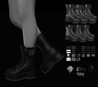 DL - Combat Boots Demo